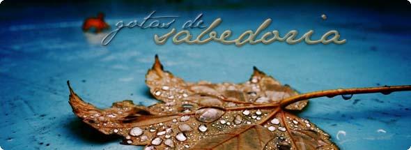130300 REFLEXAO - Gotas de Sabedoria 590